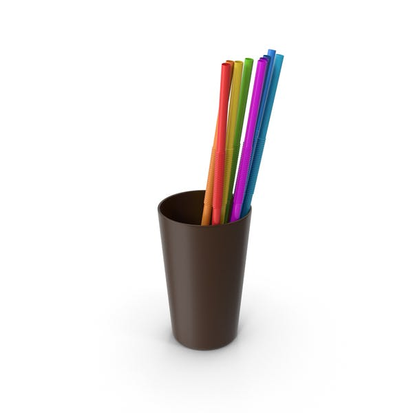 Cup with Straws