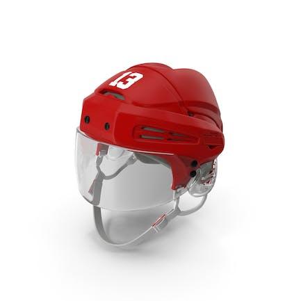 Hockey Helmet Red