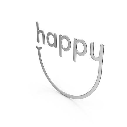 Glückliches Symbol