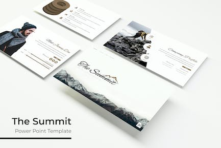 The Summit - Powerpoint Template