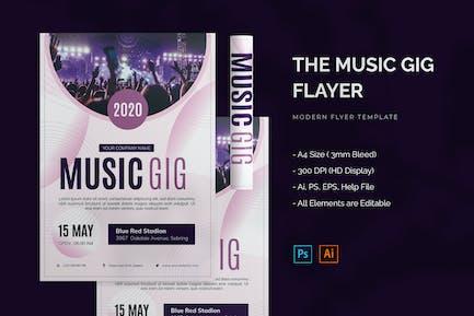Music Gig - Flyer