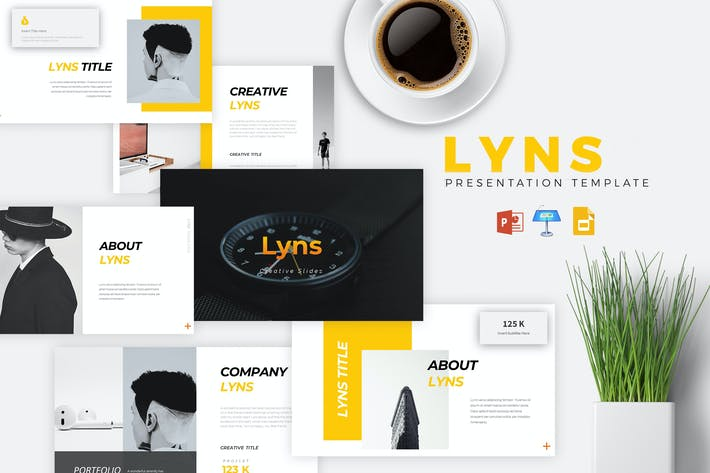 Thumbnail for LYNS - Creative Powerpoint/Google Slide/Keynote