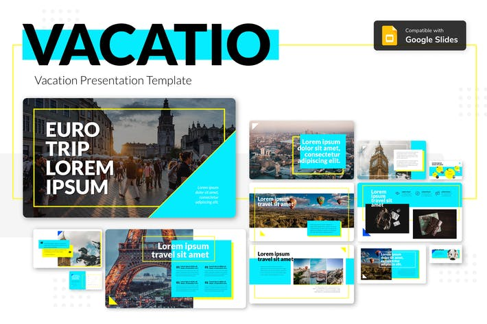 Thumbnail for VACATIO - Vacation Presentation Template