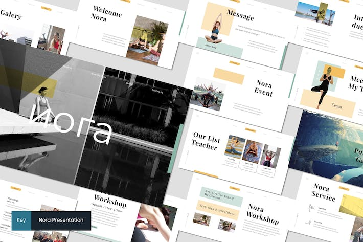 Thumbnail for Nora 2 - Keynote Template