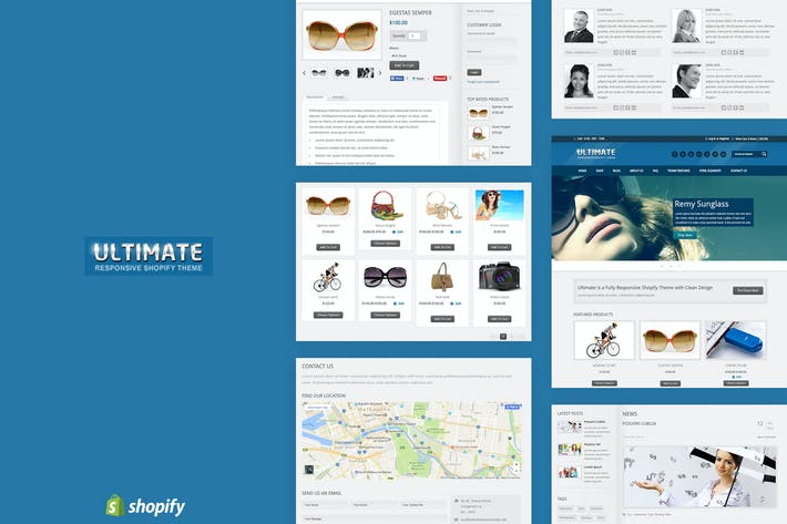 Ultimate | Responsivo Shopify Tema