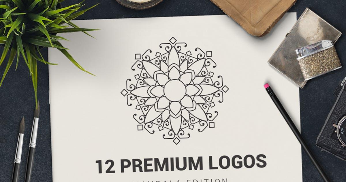 Download 12 Premium Logos Mandala Edition by designdistrictmx