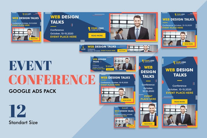 Thumbnail for Google Ads Web Banner Event Conference