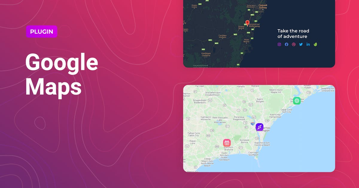 Download Google Maps for Elementor by merkulove