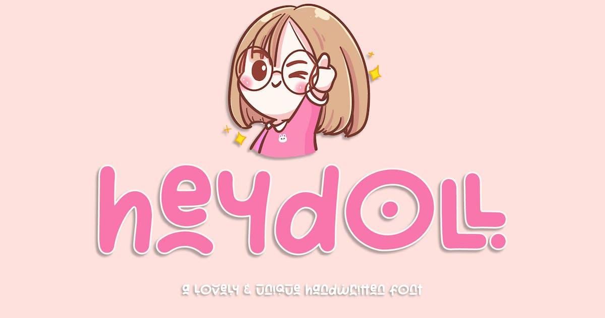 Download Heydoll - Lovely Handwritten Font by axelartstudio
