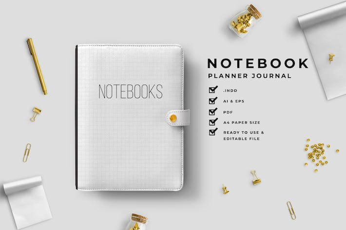 Thumbnail for Clasic – Daily Planner Journal