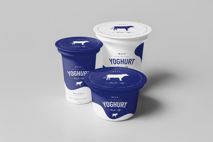 Thumbnail for Yoghurt Cup Mock-up