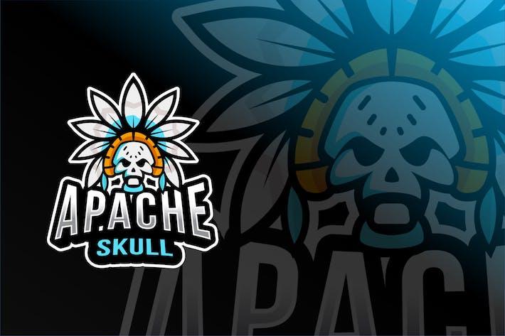 Thumbnail for Mock-up Esport Skull Apache