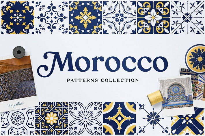 Thumbnail for Moroccan Patterns and Ornaments