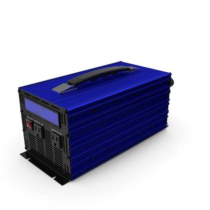 Power Inverter Blue