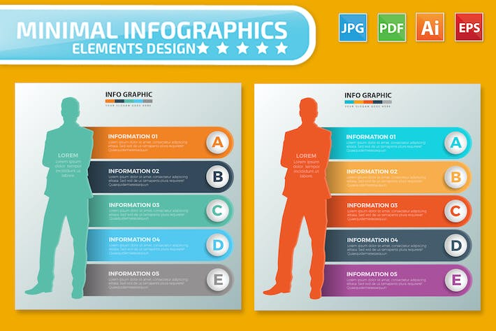 Thumbnail for Infographics design