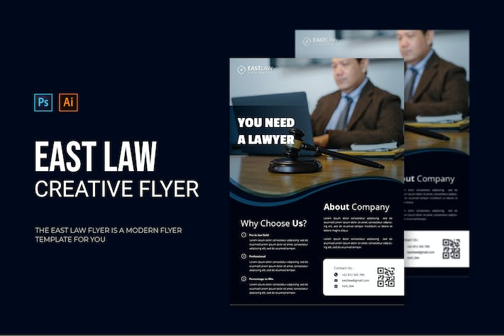 East Law - Flyer