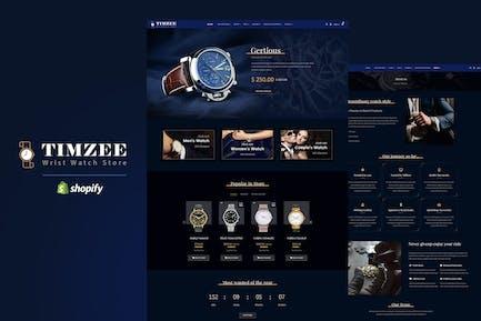 Timzee | Shopify Watch Store & Digital Clock Theme