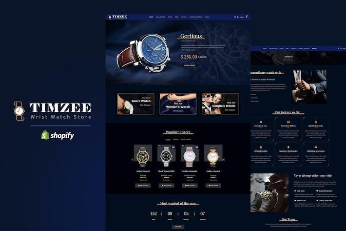 Timzee | Tienda de relojes Shopify y Tema del reloj digital