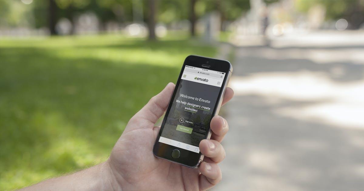 Download Apple Device Street Mockup 3 of 8 by Zedpromedia