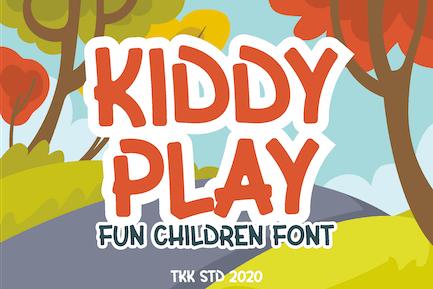 Kiddy Play - Kids Gaming font