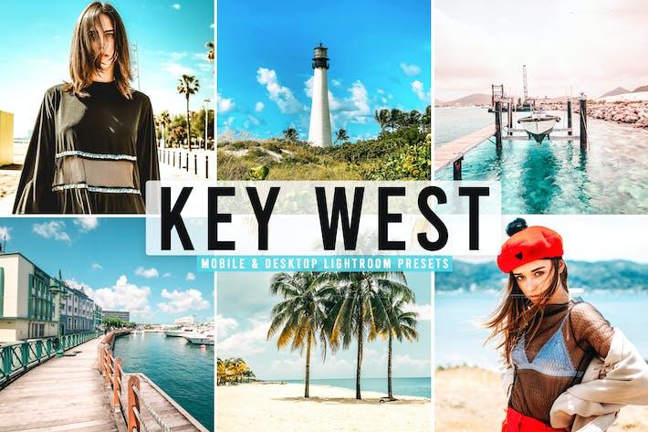 Thumbnail for Key West Mobile & Desktop Lightroom Presets