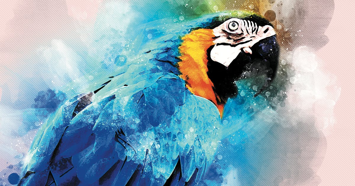 Download Watercolor Artist Photoshop Action by AB-Designer