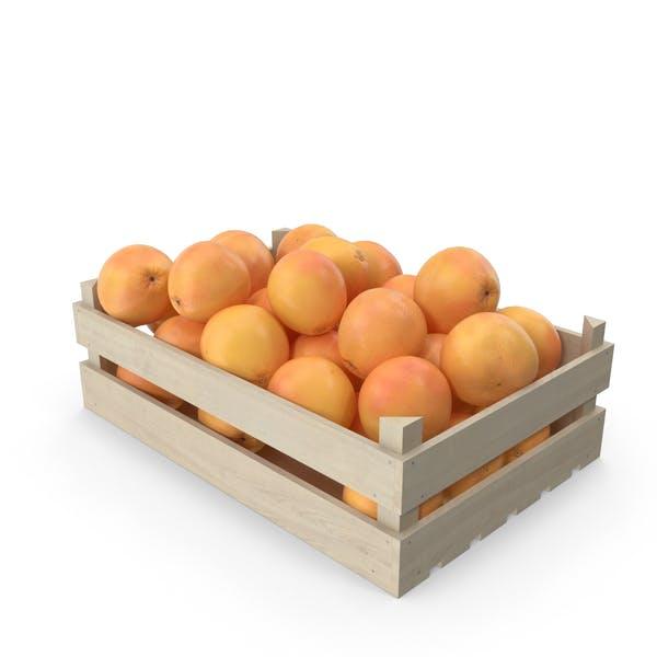 Wooden Grapefruit Crate
