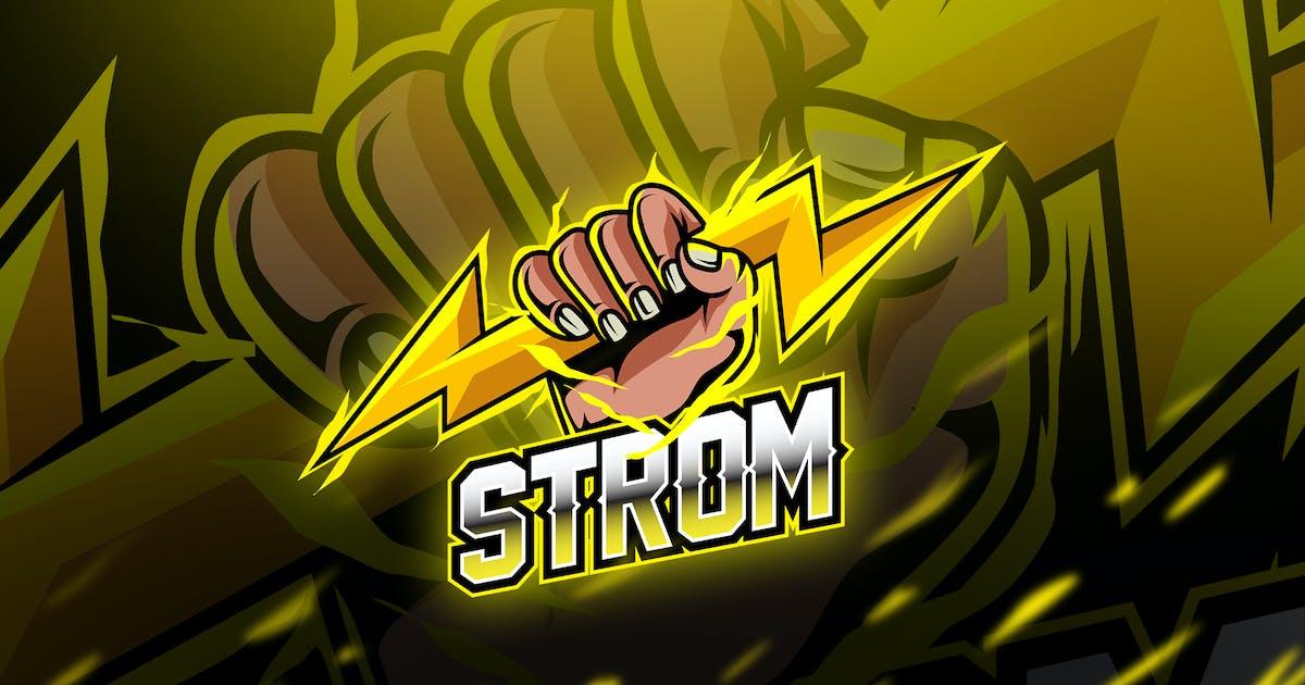 Download strom - Mascot & Esport Logo by aqrstudio