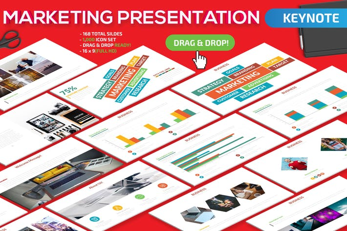 Thumbnail for Marketing Keynote Presentation