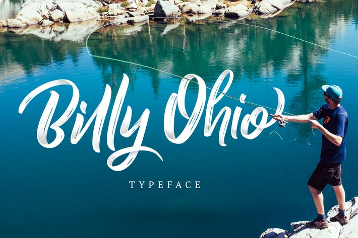 Cover Image For Billy Ohio Typeface