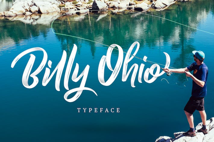 Thumbnail for Billy Ohio Typeface