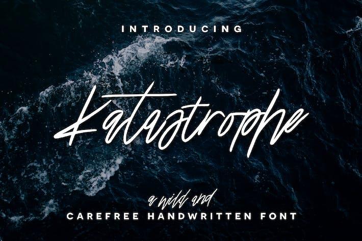 Thumbnail for Katastrophe Font