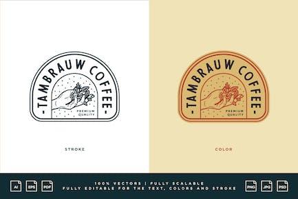 Logo de café - Café Tambrauw