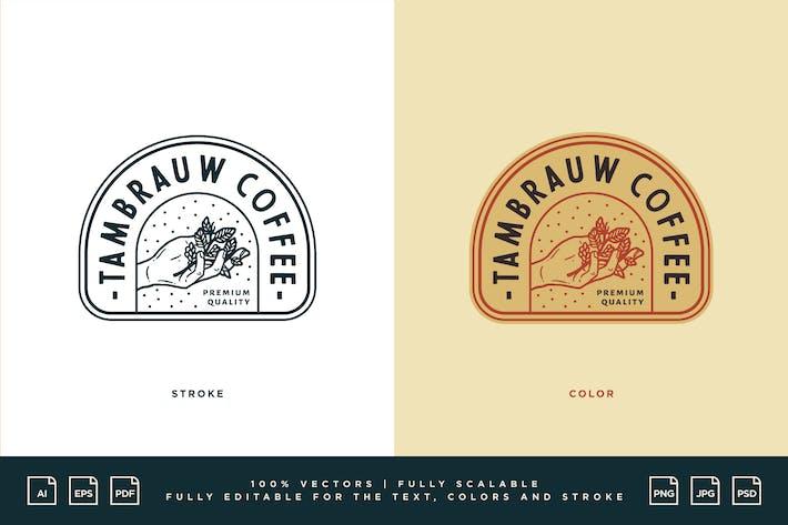 Coffee Logo - Tambrauw Coffee