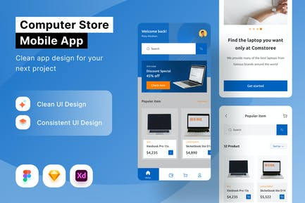 Computer Store Mobile App