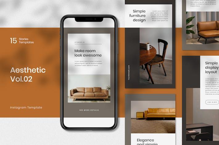 Furniture Instagram Stories Template