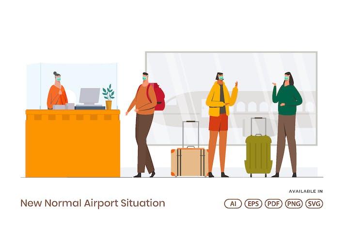 Thumbnail for Новая нормальная ситуация в аэропорту