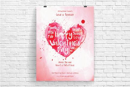 Heart Is Full Of Love Flyer