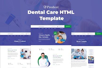 Predent – Dental Care HTML Template