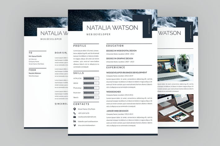 Cover Image For CV Ginger Resume Designer