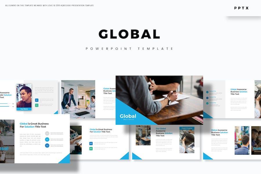 Global - Powerpoint-Vorlage