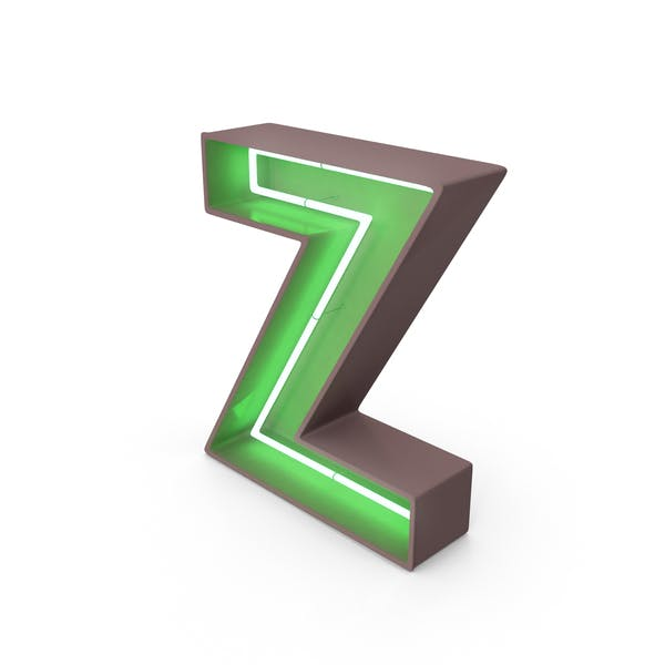 Thumbnail for Neon Letter Z
