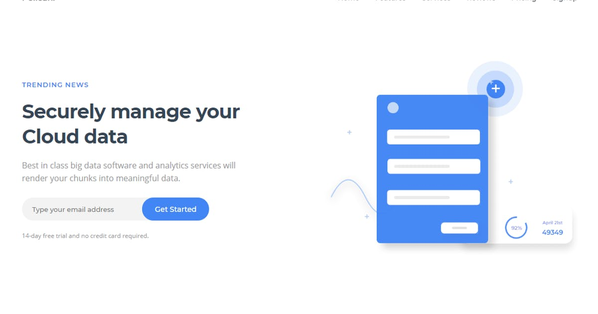 Download Pelican Software Landing Page by YDirectionThemes