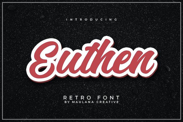 Thumbnail for Euthen Retro Fuente