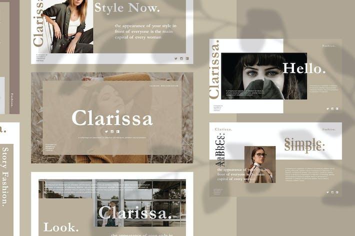 Thumbnail for Презентация пакета Clarissa