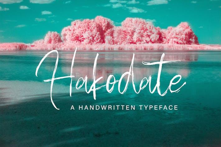 Thumbnail for Hakodate - Tipografía de mano