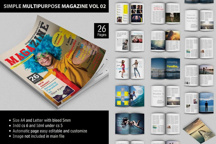 Thumbnail for Simple Multipurpose Magazine Vol.02