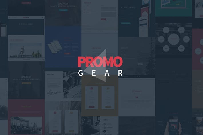 Thumbnail for PromoGear — Multipurpose OnePage Template