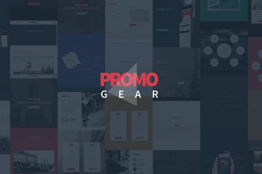 PromoGear — Multipurpose OnePage Template