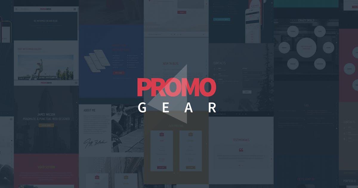 Download PromoGear — Multipurpose OnePage Template by WpWay_